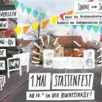 Proramm des Buchstrassenfestes 2018 mit dem 1. Bremer Ukulelenorchester