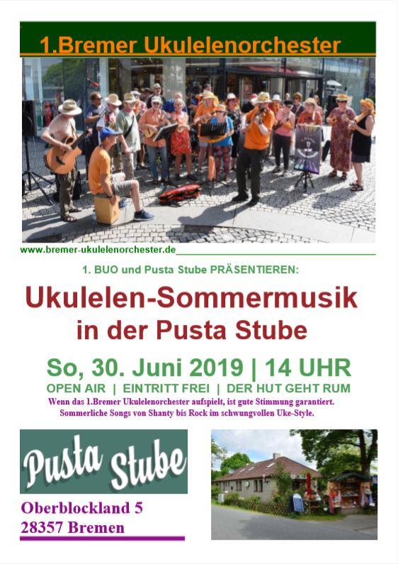Plakat Pusta-Stube 2019